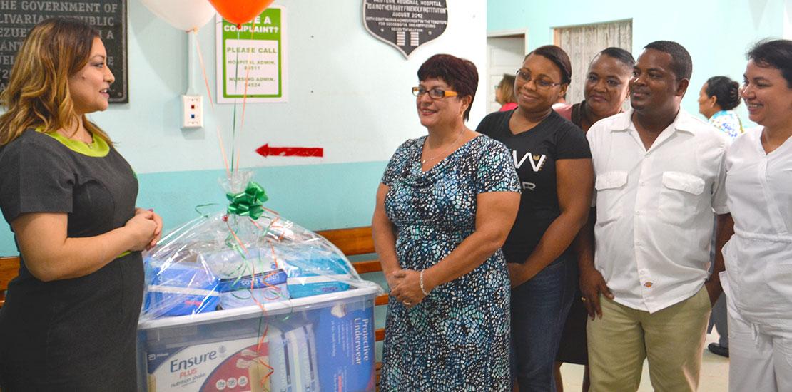 DFC donates to Palliative Care Unit, Belmopan