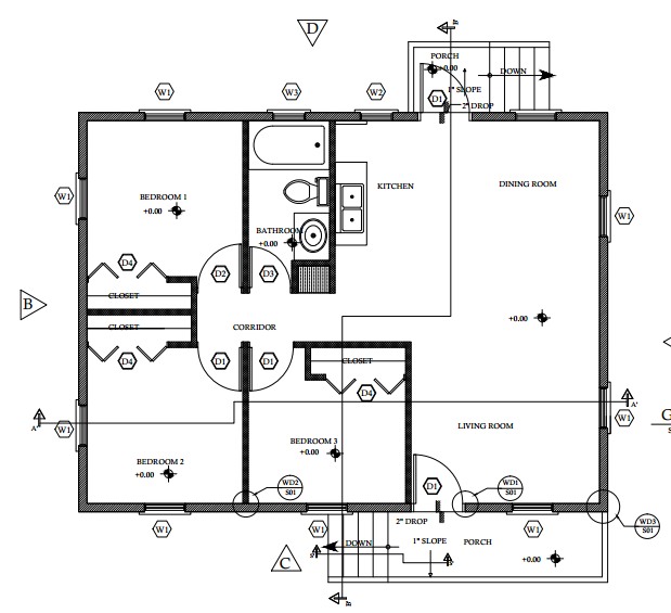 The Central Building Authority (CBA) Offers Two Types Of Starter Home  Housing Plans To The Public, 2 Bedroom And 3 Bedroom Plans.