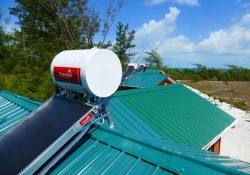Chromagen Solar Water heating System Belize