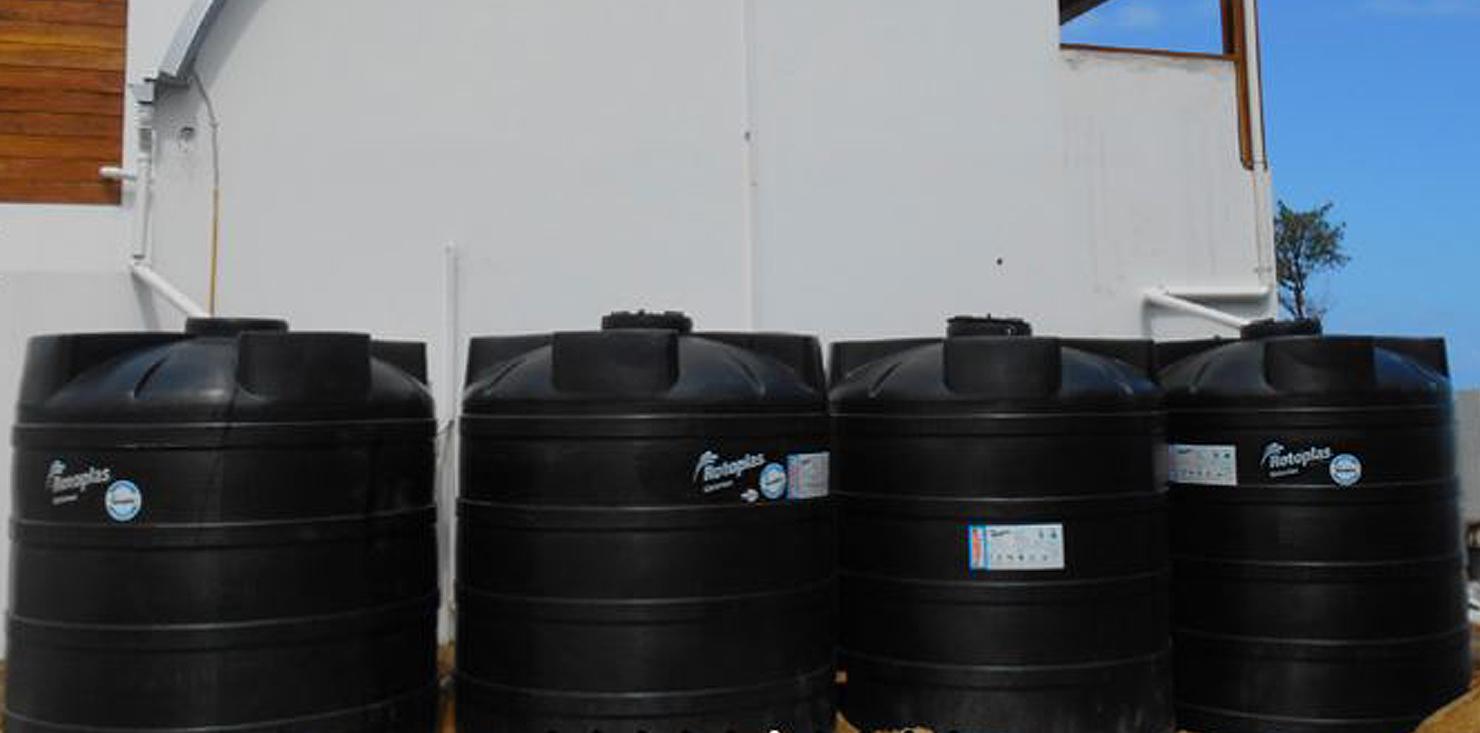Rain Water Catchment, Renewable Energy, Belize, DFC, Development Finance Corporation