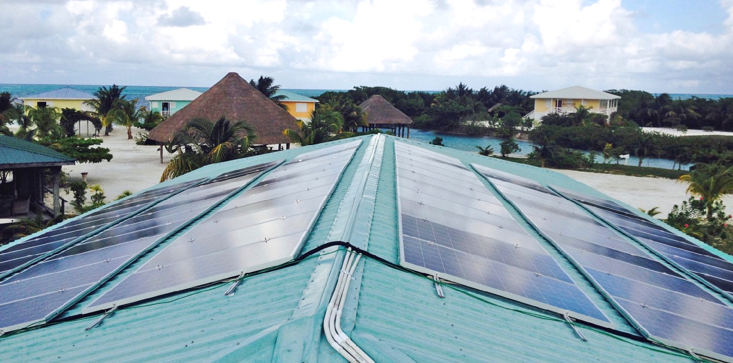 Solar PV System, Off Grid, Renewable Energy, Belize, DFC, DFC Belize, Development Finance Corporation