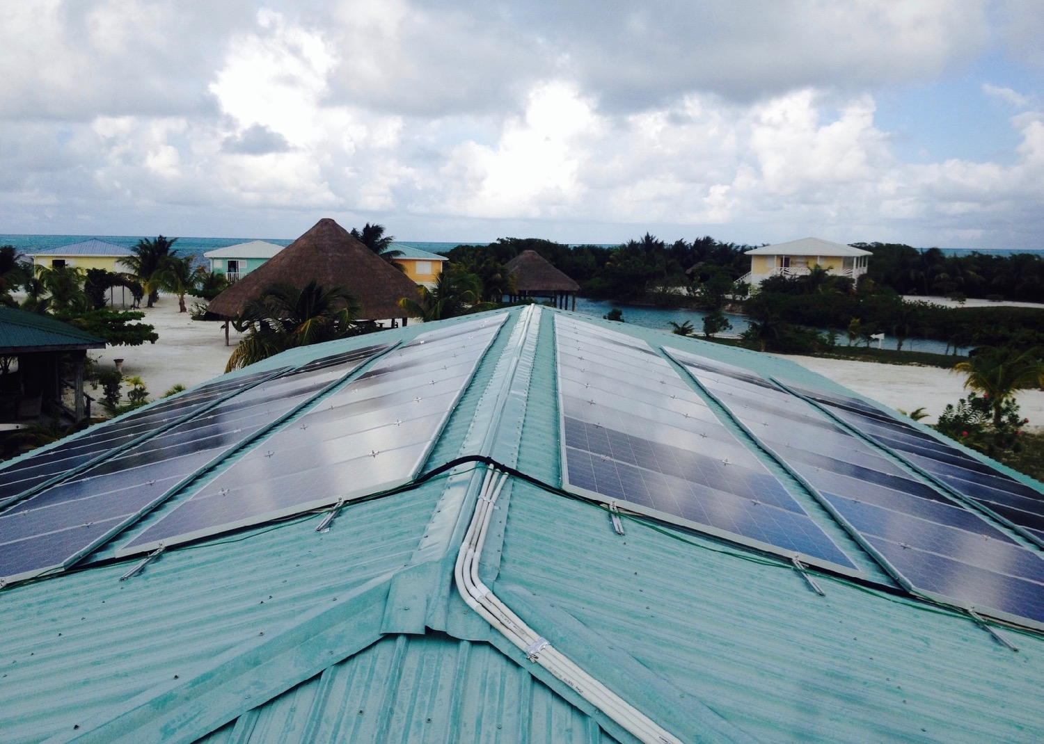 Solar Panels - Island or Cayes of Belize