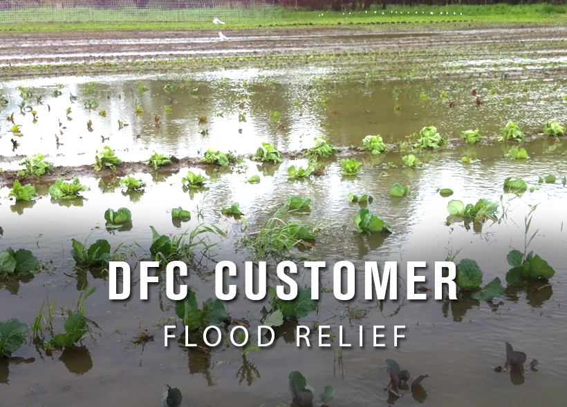 DFC Customer Flood Relief