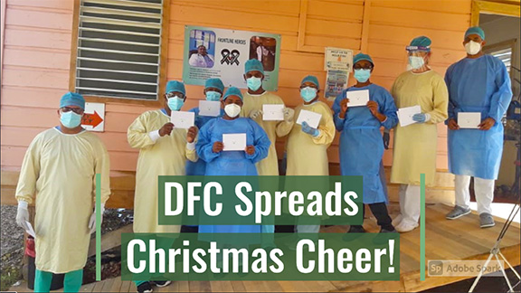 DFC Spreads Christmas Cheer